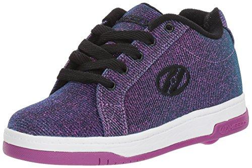 Heelys Split Disco Glitter Schuhe lila Mädchen Purple - Aqua, 35