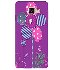 Citydreamz Floral Design Hard Polycarbonate Designer Back Case Cover For Samsung Galaxy A5 2016 Edition