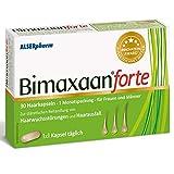 Bimaxaan forte gegen Haarausfall für Männer und Frauen! Haarwuchsmittel mit Biotin, Zink, Vitamine - kann Haarwachstum anregen. 30 Tabletten hochdosiert - Haare können schneller wachsen! Alserpharm.