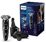 Philips Elektrischer Nass-und Trockenrasierer Series 9000 mit V-Track-Pro-Klingen S9531/26, SmartClean Reinigungsstation, Präzisionstrimmer (Generalüberholt)