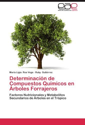 Determinacion de Compuestos Quimicos En Arboles Forrajeros por Maria Ligia Roa Vega