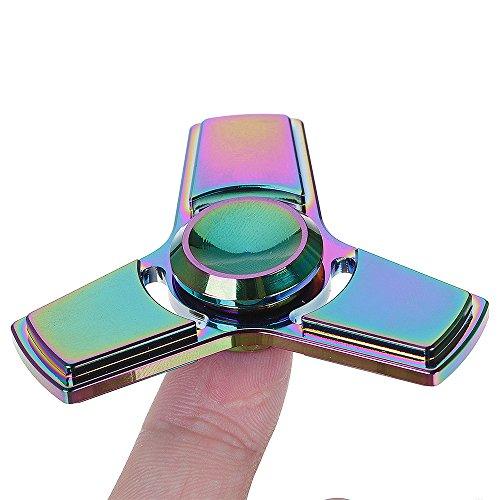 Airsson Hand Fidget Spinner EDC Focus Stress Reducer Spielzeug mit Keramik Lager für Erwachsene und Kind (Mehrfarbig) - 3