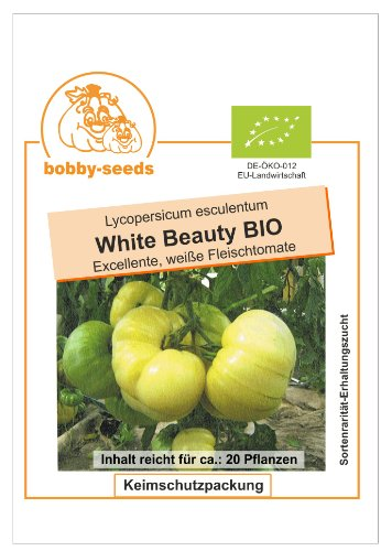 Bobby-Seeds BIO-Tomatensamen White Beauty Portion