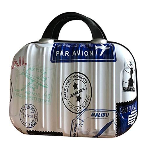 Kairuun Carrying Case Hülle Hart Tasche Make-up Bag Travel Kit Organizer Reißverschluss Kosmetiktasche im Koffer Geformt