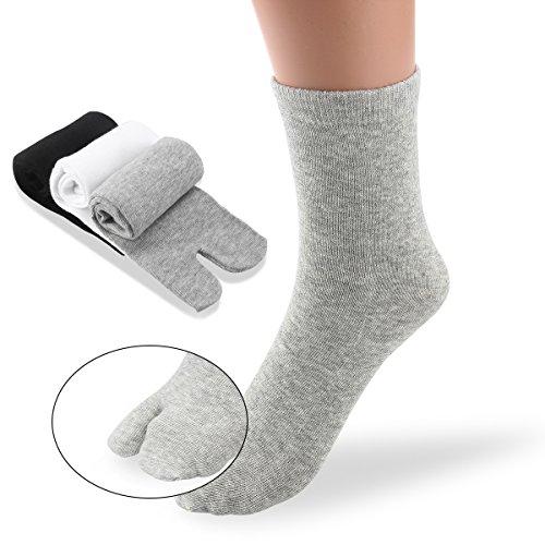 Rikio Ninja Tabi Scarpe Scarpe Basse Top ComfortCushioned jikaTabi Nero