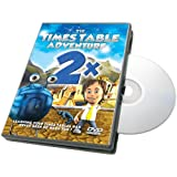 Times Table Adventure 2x Table : Journey to Calculus [Interactive DVD]