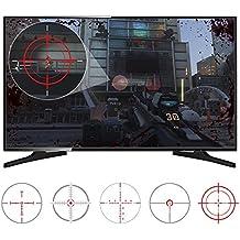 eXtremeRate® FastScope kein Scope TV-Abziehbild für FPS Spiele auf PS4 PS3 Xbox One Xbox 360 PC (10 Stück in 2 Größen 5 Designs)