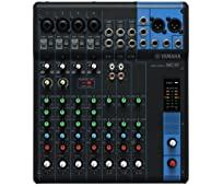 Yamaha MG 10 Mischpult Analog Sound Mixer (D-PRE, XLR, 1-Knob Compressor)
