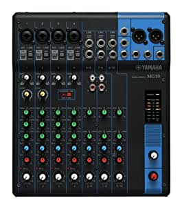 Yamaha - MG10YEM - Table de Mixage Analogique - Noir