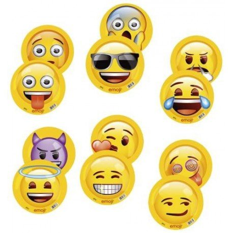 emoji 16770 - Happy People 1 Stück Softbälle, sortiert