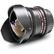 Walimex Pro versión II 8mm lente de ojo de pez para Pentax K