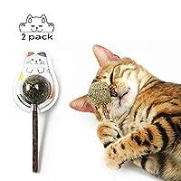 Mumoo Bear Cat Ball Stick Catnip Toys, Mint, Mb-M01