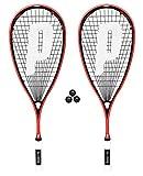 2 x Prince Pro Airstick Lite 550 Squashschläger