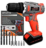 Best Craftsman Cordless Tools - Cordless Drill Driver 18V/20V-Max Lithium-Ion Combi Drill, Electric Review
