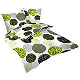 Schlummerglück Bettwäsche Fresh, Bettdeckenbezug: 140cm x 200cm, Kissenbezug ca. 70cm x 90cm, 100% Baumwolle