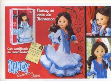 Nancy Flamenca de Famosa
