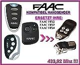 FAAC FIX2 / FAAC FIX3 / FAAC FIX4 kompatibel handsender, Top Qualität ersatz fernbedienung für den besten Preis!!! 433,92Mhz rolling code !!!