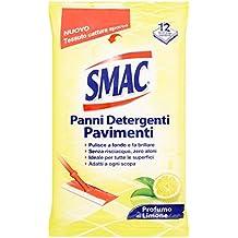 Smac Panni Detergenti Pavimenti - 6 confezioni da 12 pezzi [72 pezzi]