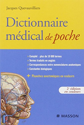 Dictionnaire médical de poche (Hors collection) por Jacques Quevauvilliers