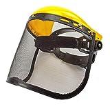 Gesichtsschutz für Motorsense, Freischneider, Sense Visier Netzvisier, Gesichtsschutzschild