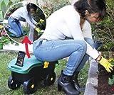 Tolles Wert Garten behindern–Geschenk Set für Weihnachten nur Gusseisen–Braun Trolley +-in Sitz N Roll (Kniebank, Instrument, und Set N Roll)–Brilliant Geschenk für jeden Gärtner/Garten Inhaber.