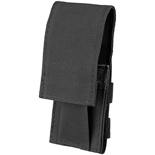 Couteau, étui Nylon noir, horizontale et verticale portable