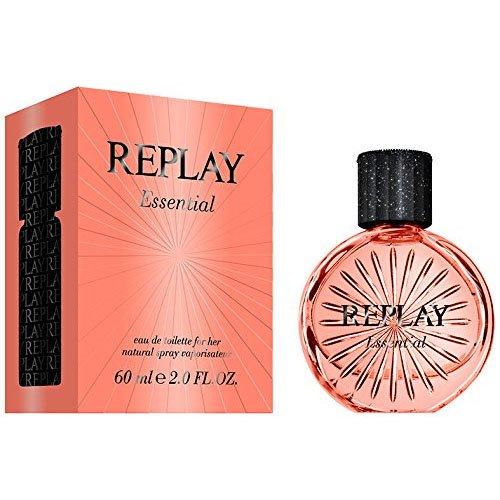 REPLAY Essential Her EDT Vapo 60 ml, 1er Pack (1 x 60 ml)