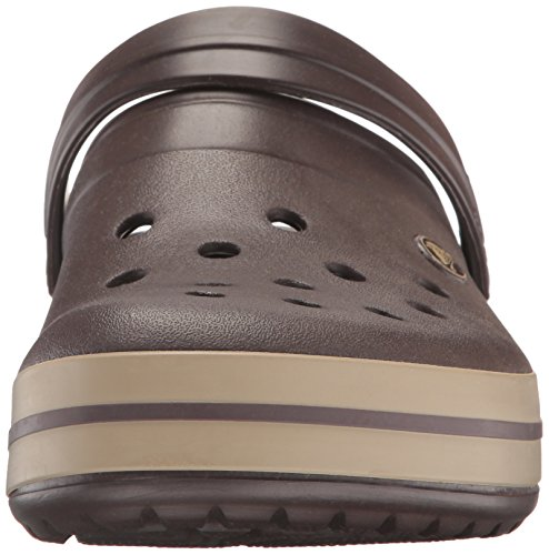 crocs Unisex-Erwachsene Crocband Clogs Braun