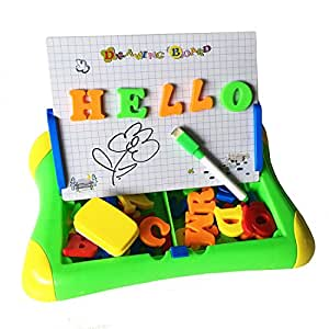 Magnetic alphabet letters and numbers drawing writing for Magnetic letters for 1 year old