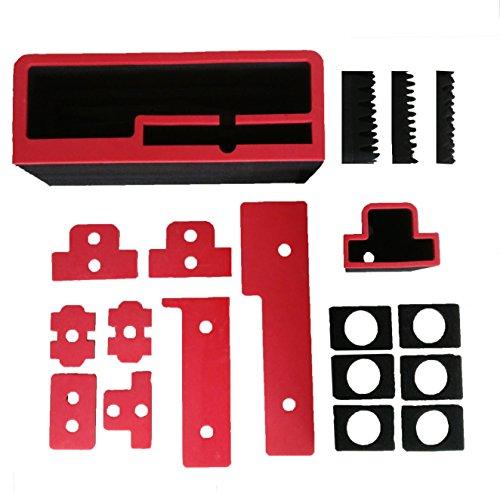Professioneller Transportkoffer für DJI Inspire 2 - Landing Mode - Platz fuer X4S/X5S - 20 Batterien, Objektive, Deckel im Peli 1630 Koffer von MC-CASES - 4