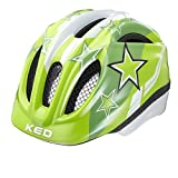KED Meggy Helmet Kids Green Stars Kopfumfang 49-55 cm 2017 mountainbike helm downhill
