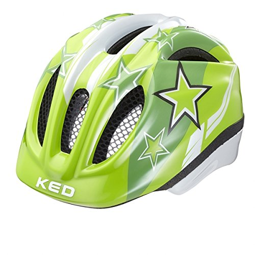 Ked Meggy Helmet Kids Green Stars
