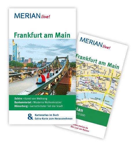Image of MERIAN live! Reiseführer Frankfurt am Main: MERIAN live! - Mit Kartenatlas im Buch und Extra-Karte zum Herausnehmen