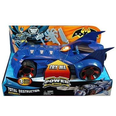 Mattel Batman Power Attack Total Destruction - Batmóvil por Mattel