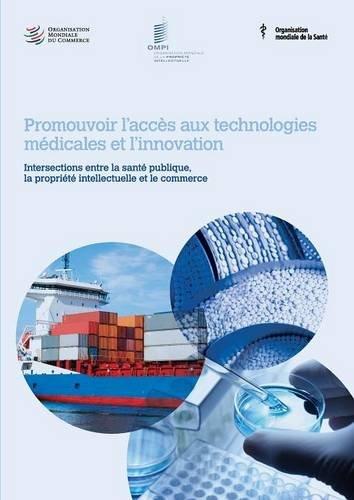 Promouvoir L'Acces Aux Technologies Medicales Et L'Innovation - Intersections Entre La Sante Publique, La Propriete Intellectuelle Et Le Commerce
