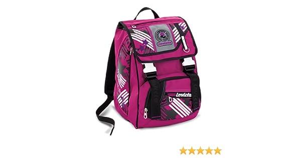 b7a937a4e3 Zaino scuola sdoppiabile INVICTA - JUSSI - rosa - bambina - elementari e  medie 28 LT: Amazon.it: Valigeria