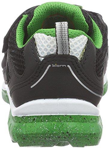 Ecco BIOM TRAIL Unisex-Kinder Sneakers Schwarz (BLACK/BLACK/MEADOW 52562)