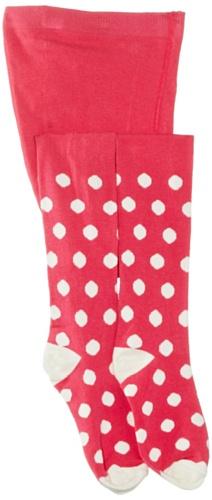 Playshoes Unisex - Baby Strumpfhose 499009 Strumpfhose Punkte von Playshoes, Gr. 98/104, Mehrfarbig (18 pink)