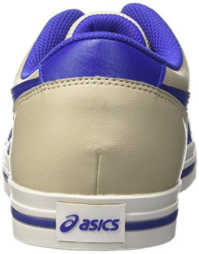 Asics Herren Aaron Sneaker Grau (Feather Grey/asics Blue)