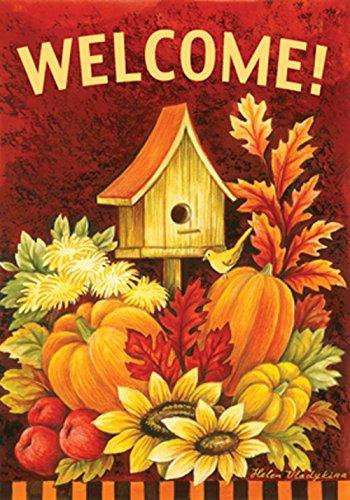 toland-home-garden-118272-doppelseitiges-vogelhauschen-orange