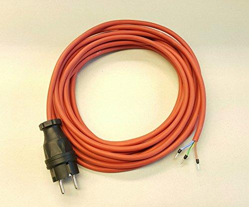 Geräteanschlusskabel SIHF Silikon Wärmebeständig 3x1,5 50m rot/braun
