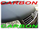 AB-00341 Carbon Optik PLEIN BRA pour tout le capot VW T5 2009-2015 BRA DE CAPOT - PROTEGE CAPOT Tuning Bonnet Bra