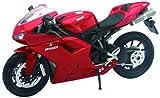 New Ray 57143A - Ducati 1198, Scala 1:12, Die Cast, colori assortiti