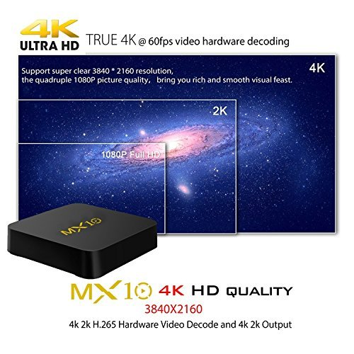LinStar Android TV Box  4GB DDR4  32GB  Smart 4K TV Box Android 7 1 Wifi Set Top Boxes Support 3D 4K Ultra HD TV