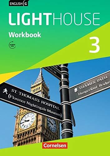 English G LIGHTHOUSE - Allgemeine Ausgabe: Band 3: 7. Schuljahr - Workbook mit Audio-Download ab März 2017, 1. Auflage, 5 Druck