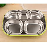 stainless steel lunch box with compartment/kids meal box/leakproof - Best Reviews Guide