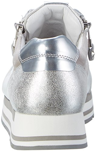 Kennel und Schmenger Schuhmanufaktur  Rock, Sneakers Basses femme Weiß (white/bianco/light Sohle Grau)
