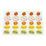 GCSJ Pack de 10 Anti-adhésif Tapis de silicone, pour Déshydrateur Alimentaire, 38 *...