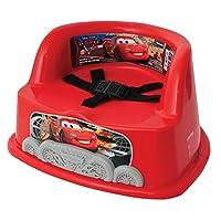 The First Years Y9089 - Sitzerhöhung Disney Cars, 3-Punkt-Sitzgurt, tragbar und ideal für unterwegs