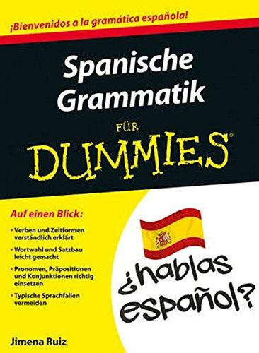 Spanische Grammatik für Dummies
